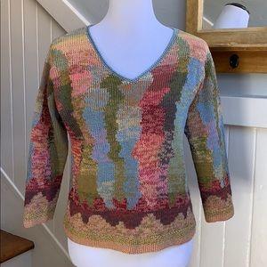 Peruvian Connection Pima Cotton Sweater